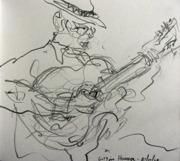 Cuban Guitarist