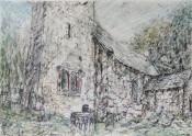 St. Illtuds church, llantrithyd